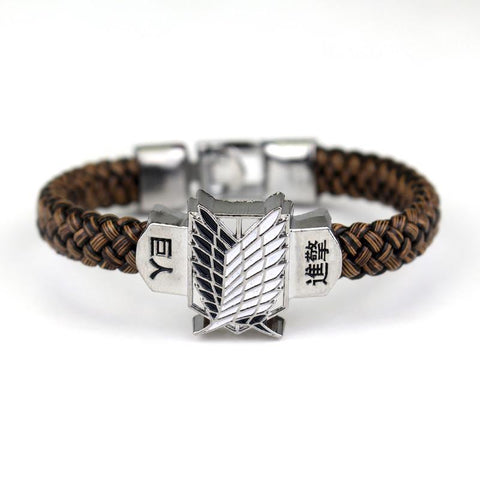 Attack on Titan Scout Wings Symbol Awesome Design Bracelet Wristband