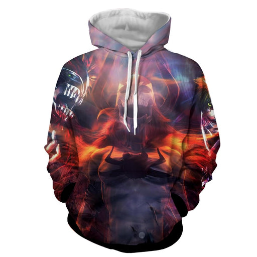 Bleach Dope Ichigo Kurosaki Hollow Transformation Hoodie