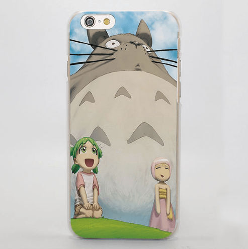 Confusing Totoro Anime Chibi iPhone 4 5 6 7 Plus Case