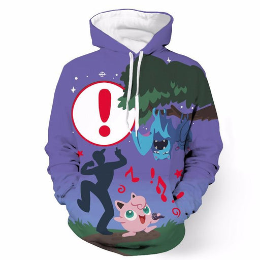 Cool Pokemon Go Loading Screen Full Print 3D Hoodie - Konoha Stuff