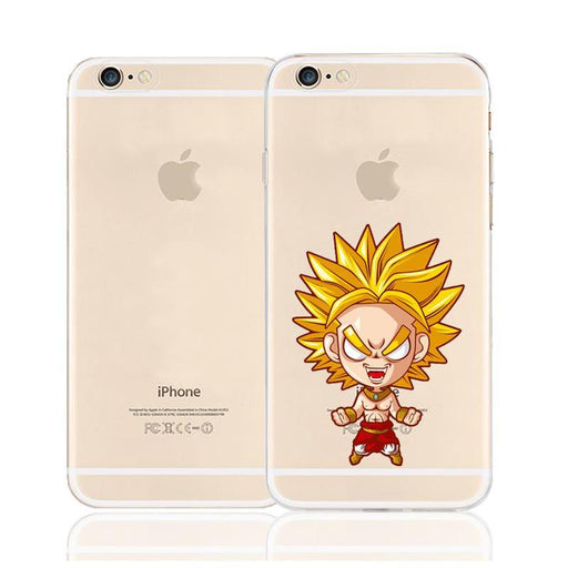 Cute Chibi Broly Legend Saiyan Character Back Cover for iPhone 6 6s Plus