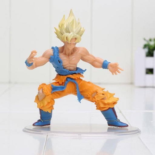 DBZ Super Saiyan Son Goku SSJ1 Dragon Wild Styling Action Figure 10cm - Saiyan Stuff - 1