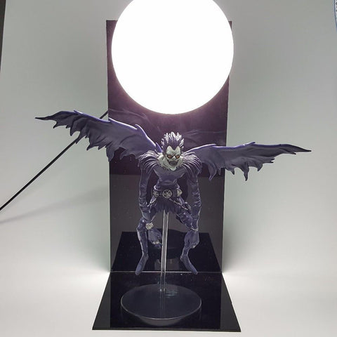 Death Note Ryuk Shinigami Ryuuku Death God DIY Cool Lamp - Konoha Stuff
