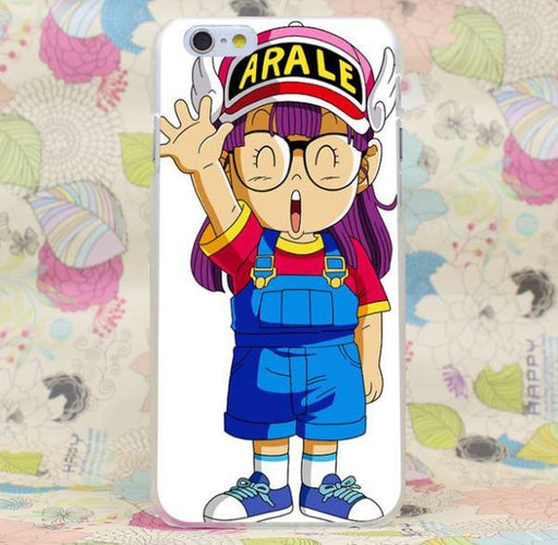 Dr. Slump Arale Cute Anime Girl Japan Theme Design iPhone 4 5 6 7 Plus Case