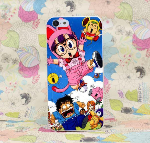 Dr. Slump Arale Cute Cat Costume Characters Anime iPhone 4 5 6 7 Plus Case
