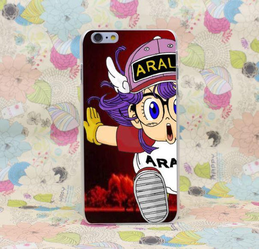 Dr. Slump Arale Funny Anime Girl Manga Design iPhone 4 5 6 7 Plus Case