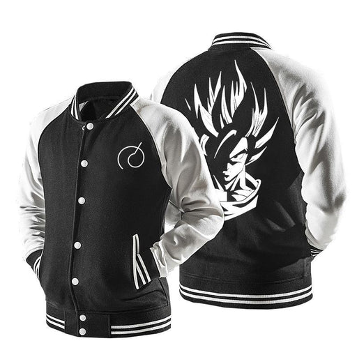 Dragon Ball Classical Goku Stylish Baseball Varsity Jacket