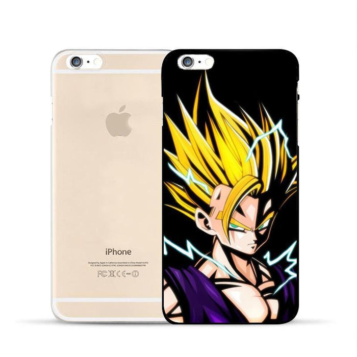 Dragon Ball Gohan Super Saiyan Kid Fan Art Amazing iPhone 5 6 7 s Plus Case