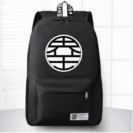 Dragon Ball King Kai Symbol Awesome Design School 4 Colors Backpack