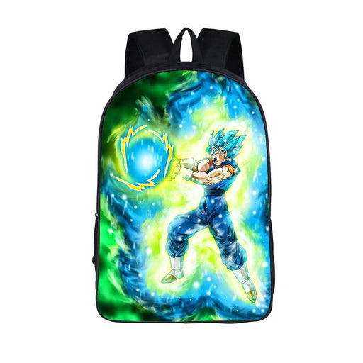 Dragon Ball Super Vegito Final Kamehameha Wave Backpack Bag