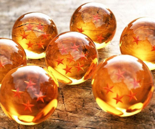 Dragon Ball Z 7 Stars Crystal Balls Set 7 Pcs - Saiyan Stuff