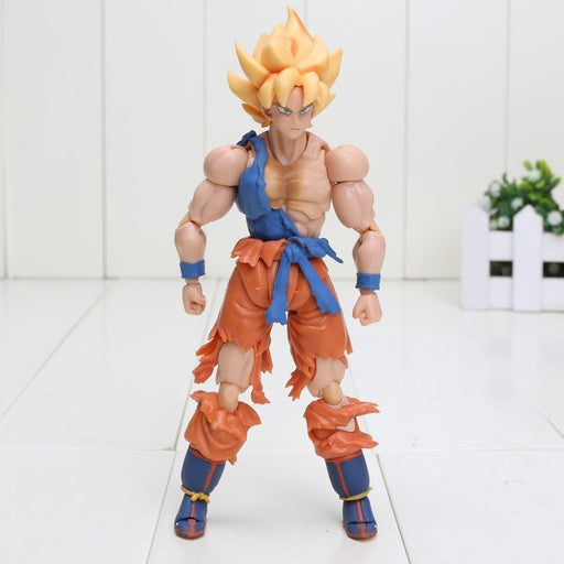 Dragon Ball Z Goku Super Saiyan Warrior Awakening Version Action Figure - Saiyan Stuff - 1