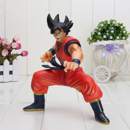 Dragon Ball Z Savage Son Goku Ready To Fight Collectible PVC Figure Toy 23cm - Saiyan Stuff - 1