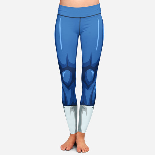 Dragon Ball Z Vegeta Women Cosplay Blue Leggings Yoga Pants