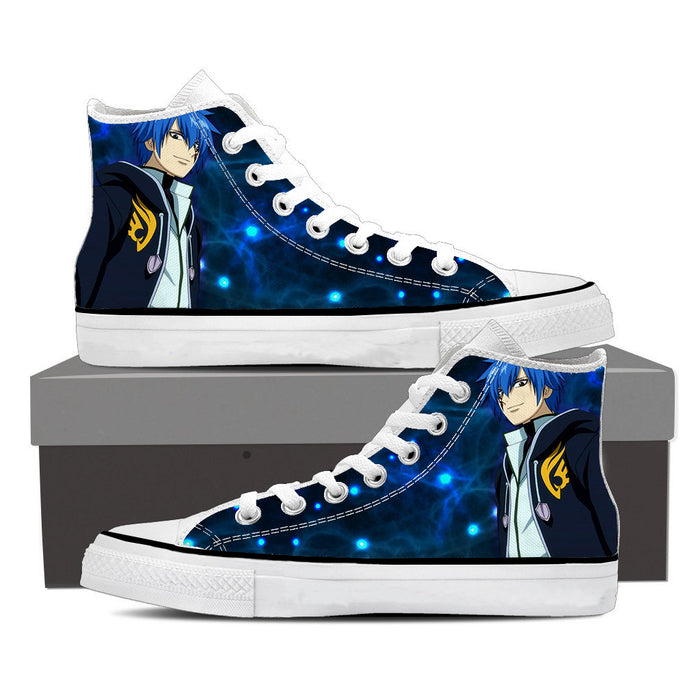 Fairy Tail Anime Jellal Fernandes Charming Smile Blue Shoes