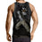 Fairy Tail Gajeel Redfox Iron Dragon Slayer Black Tank Top