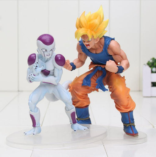 Freeza and Super Saiyan Son Goku Dramatic Showcase PVC Figure - Saiyan Stuff - 1