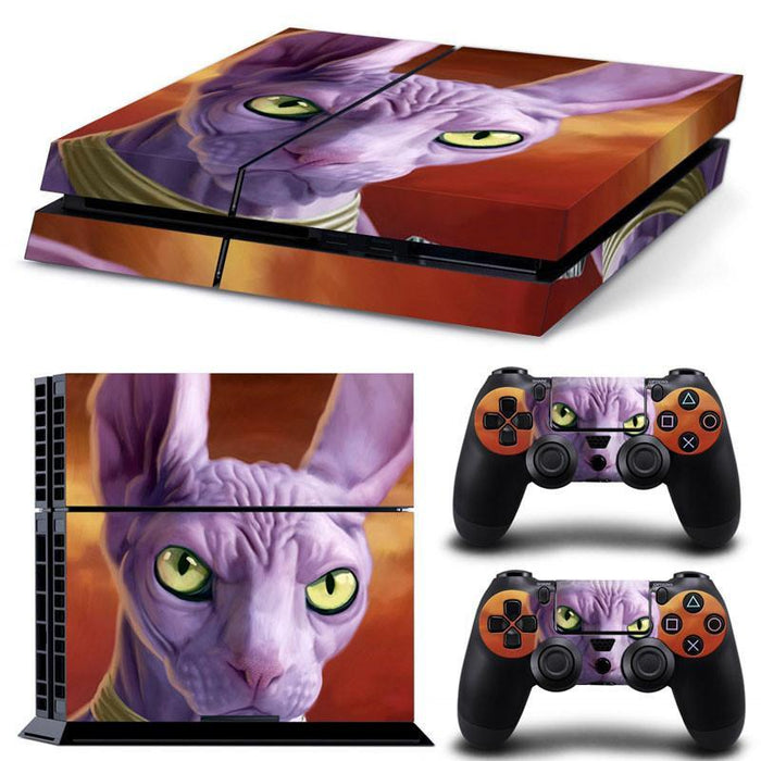 God of Destruction Lord Beerus Face Dragon Ball Skin Decal for PS4 - Saiyan Stuff