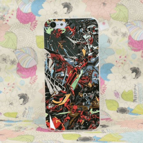 Gurren Lagann Mecha Theme Anime All Characters Cool iPhone 4 5 6 7 Plus Case