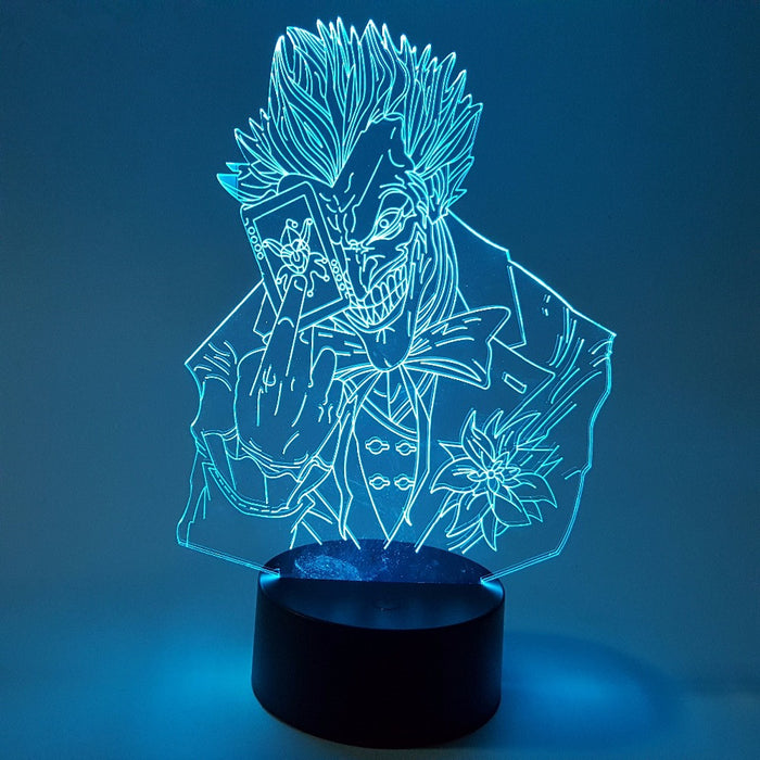 DC Comics Batman Bad Joker Color Changing 3D Illusion Acrylic Lamp