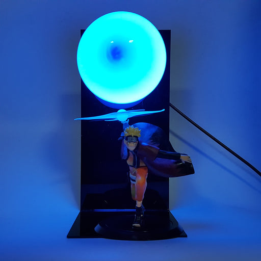 Naruto Uzumaki Sage Mode Rasenshuriken Blue DIY 3D LED Light Lamp