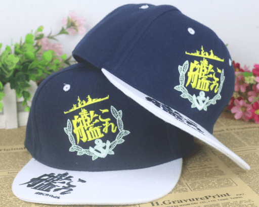 Kantai Collection Kancolle Girls Logo Hip Hop Hat Cap Snapback - Konoha Stuff