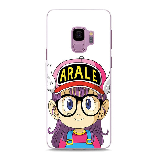 Dr. Stump Arale-Chan Simple White Samsung Galaxy Note S Series Case