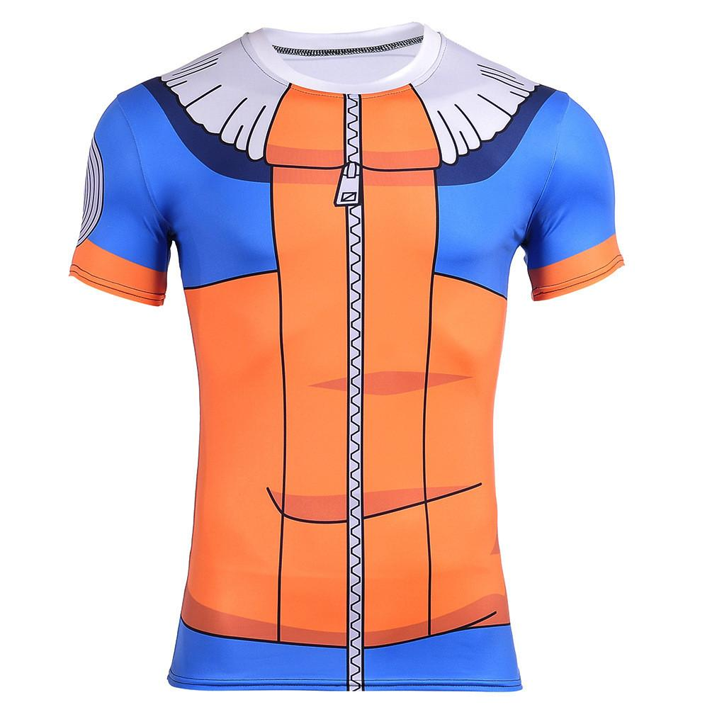 Kid Naruto Uzumaki Clan Symbol Jacket Costume 3D T-Shirt