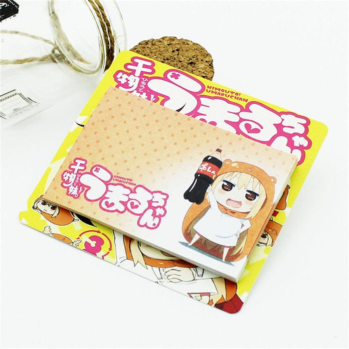 Lovely Himouto! Umaru-chan Cola Fan Japan Manga Useful Sticky Notes - Konoha Stuff