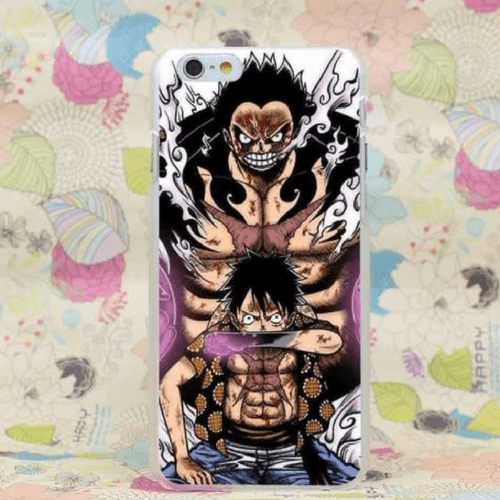 Luffy Gear Fourth Transformation Haki Activation iPhone 4 5 6 7 Plus Case