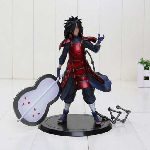 Madara Uchiha Gunbai Army Arrangement Fan Action Figure 17cm - Konoha Stuff