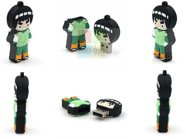 Might Guy Maito Gai Cute USB 2.0 Flash Drive 4GB 8GB 16GB 32GB - Konoha Stuff