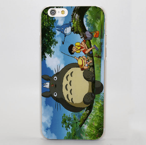 My Neighbor Totoro Beautiful Scene iPhone 4 5 6 7 Plus Case
