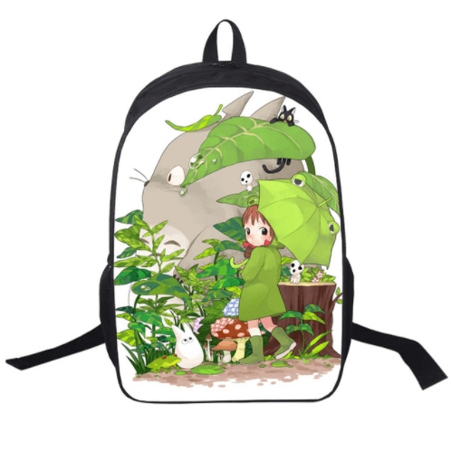 My Neighbor Totoro Cartoon Style Design School Bag Backpack