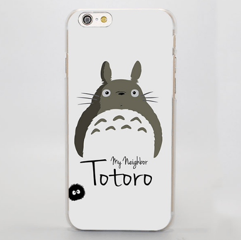 My Neighbor Totoro Cute White iPhone 4 5 6 7 Plus Case