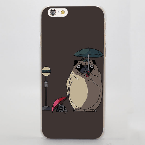 My Neighbor Totoro Dog Meme Funny iPhone 4 5 6 7 Plus Case