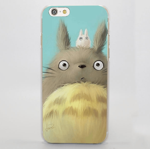 My Neighbor Totoro Fan Art Painting iPhone 4 5 6 7 Plus Case