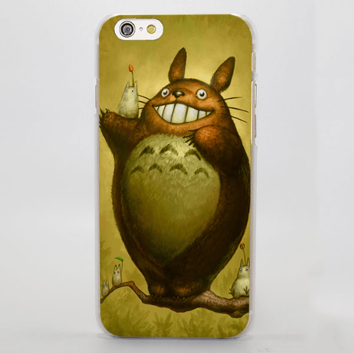 My Neighbor Totoro Forest Spirit iPhone 4 5 6 7 Plus Case