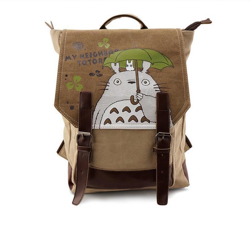 My Neighbor Totoro Holding Umbrella School Cute Bag Backpack - Konoha Stuff