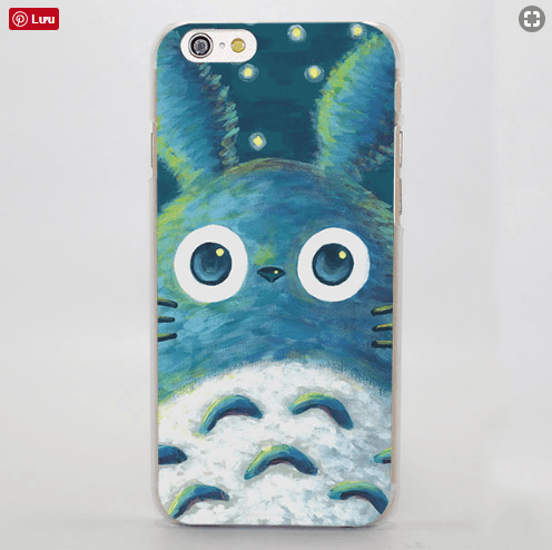 My Neighbor Totoro Lovely Fan Art iPhone 4 5 6 7 Plus Case