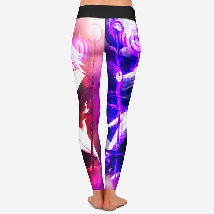Naruto Madara Uchiha Jinchuriki Yoga Pants Cosplay Leggings