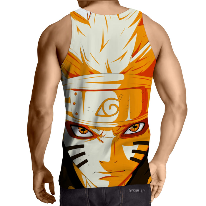 Naruto Sage Mode Jinchuuriki Six Paths Anime Themed Design Tank Top
