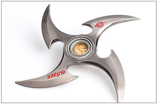 Naruto Shinobi Ninja Throwing Stars Alloy Shuriken Weapon - Konoha Stuff - 1
