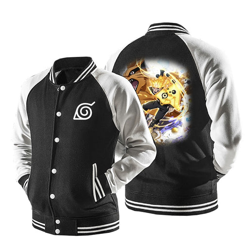 Naruto Six Path Sage Mode Form Kurama Beast Baseball Jacket