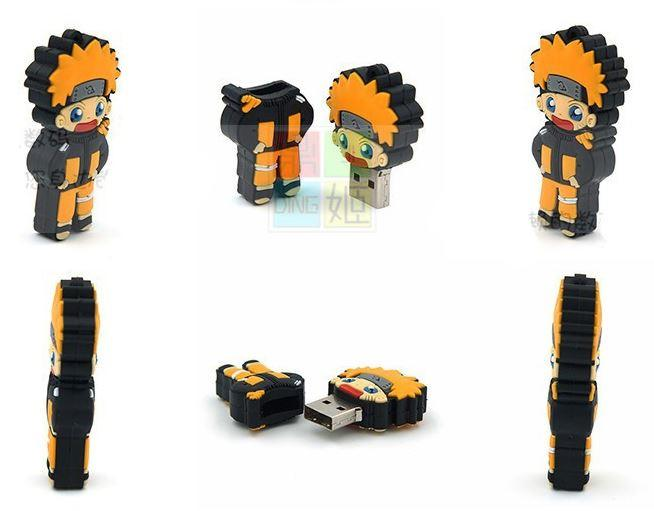 Naruto Uzumaki Cute USB 2.0 Flash Drive 4GB 8GB 16GB 32GB - Konoha Stuff
