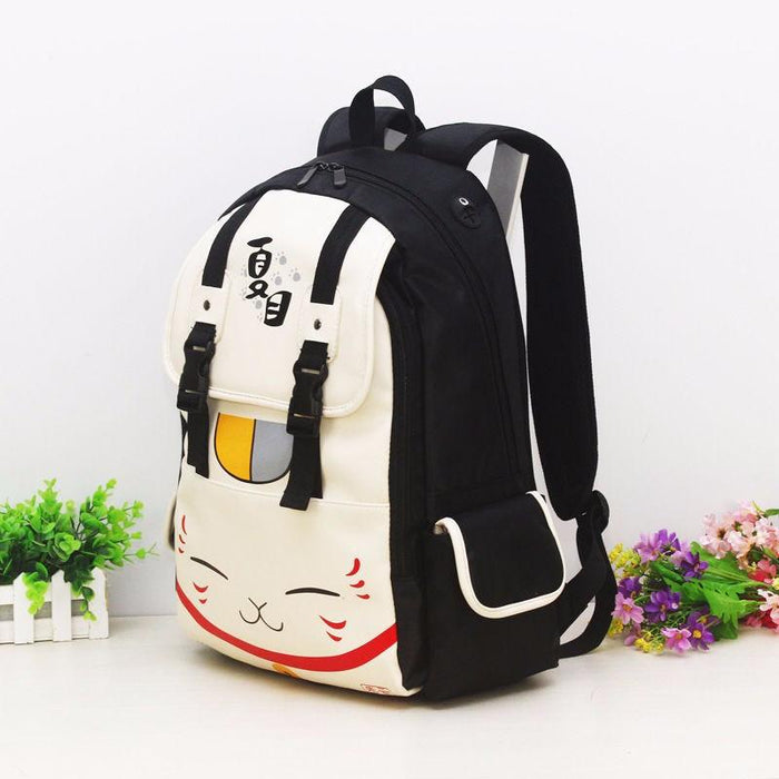 Natsume Yuujinchou Cat Kawaii School Laptop Bag Backpack - Konoha Stuff - 2
