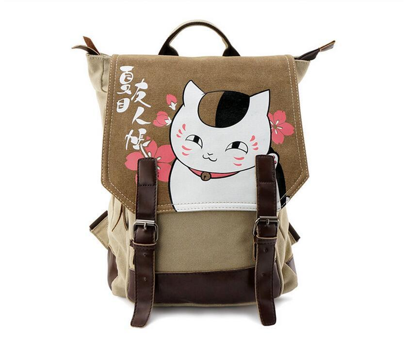 Natsume Yuujinchou Madara Cat Trip School Cute Bag Backpack - Konoha Stuff