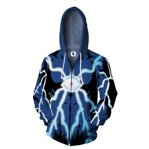 One-Punch Man Boros Dark Matter Thieves Leader Zip Up Hoodie