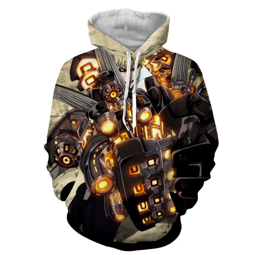 One-Punch Man Genos Second Form Incineration Cannons Hoodie