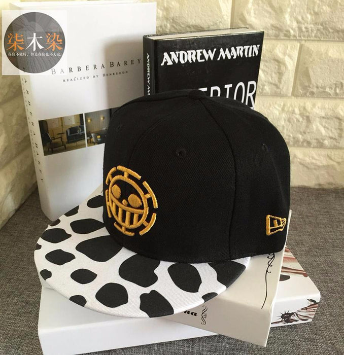 a965ae73d23a7 One Piece Heart Pirate Symbol Logo Cheetah Pattern Cool Design Snapback - Konoha  Stuff - 1